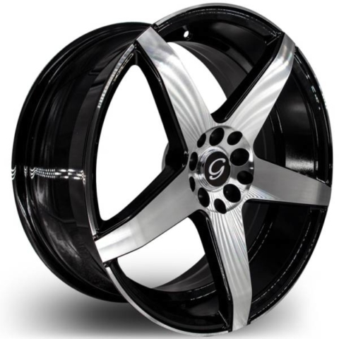 G-Line G5073 Machine Black Wheels