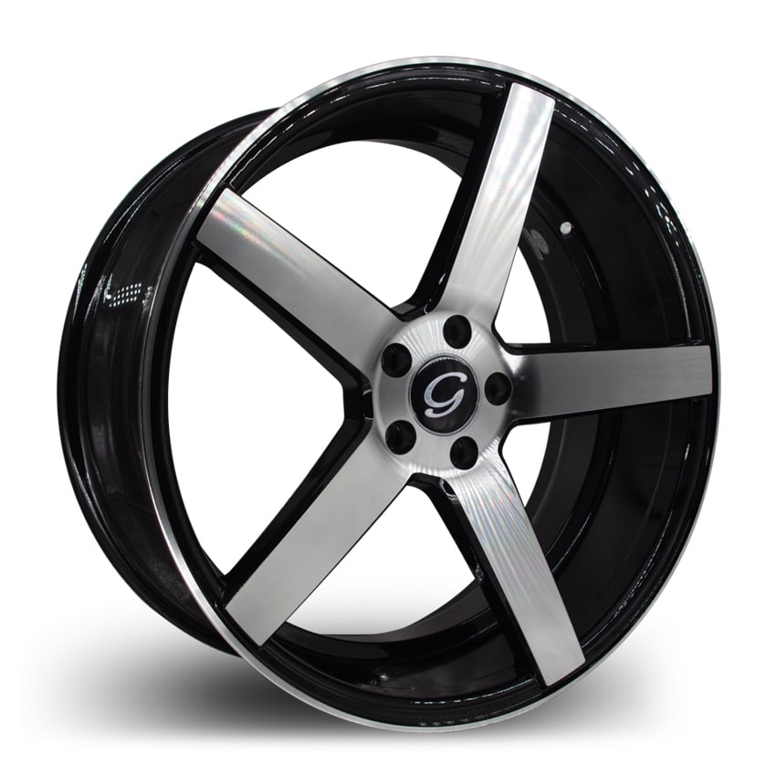 G-Line G5178 Machine Black Wheels