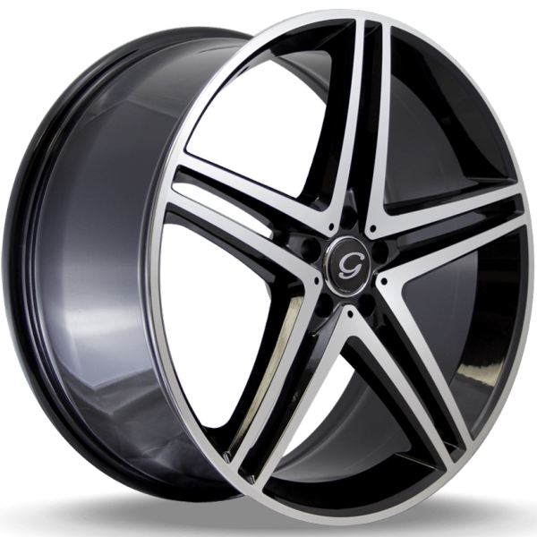 G-Line G5179 Black Machined Wheels