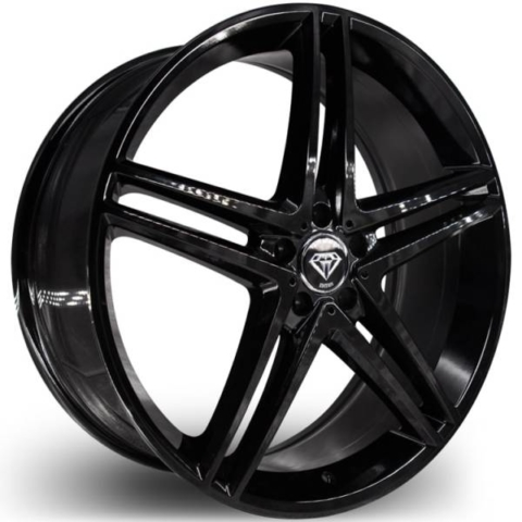 G-Line G5179 Gloss Black Wheels