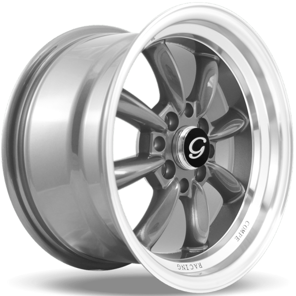G-Line Wheels G8014 Gunmetal with Machined Lip