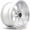 G-Line Wheels G8014 White with Machined Lip