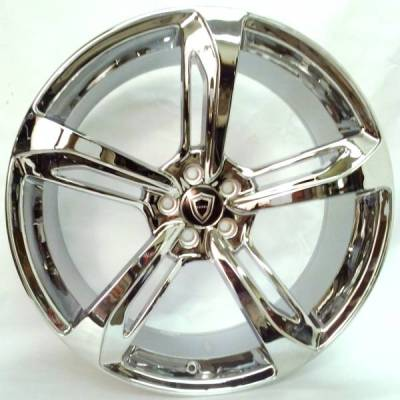 Capri 5191 Chrome Wheels
