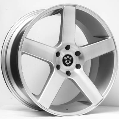 Capri 5288 Silver Wheels