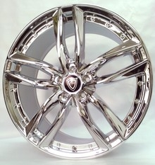 Capri 5228 Chrome Wheels