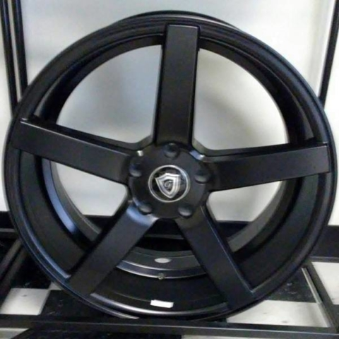 G-Line G5178 Satin Black Wheels