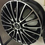 G-Line G0078 Black Machined Wheels