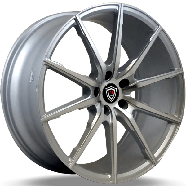 Marquee M1035 Silver Machined Wheels