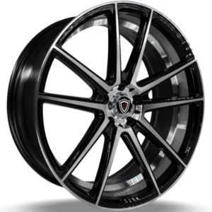 Marquee M3197 Black Machined Wheels