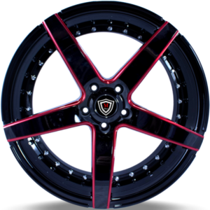Marquee M3226 Black with Red Accent Wheels
