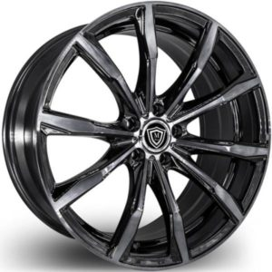 Marquee M4408 Smoked Finish Wheels