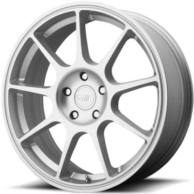 Motegi MR138 Hyper Silver Wheels
