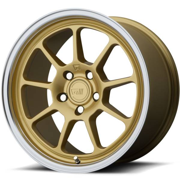 Motegi MR133 Gold Machined Wheels