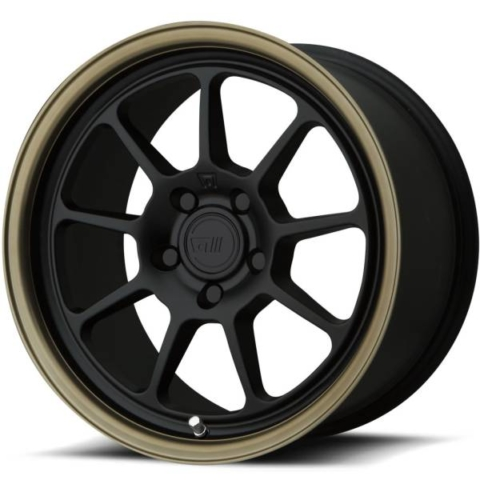 Motegi MR135 Matte Black and Bronze
