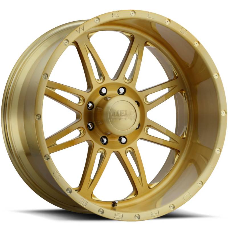 Weld Cheyenne 8 Gold Wheels