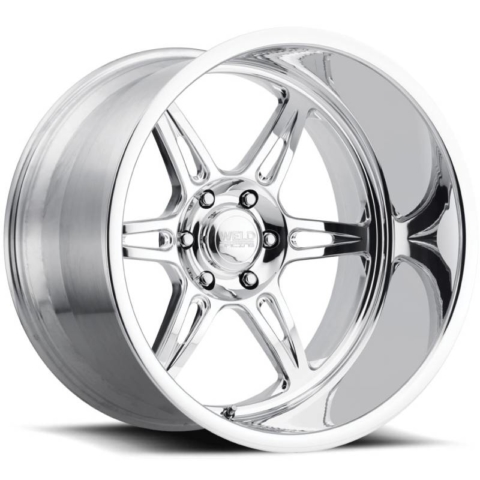 Weld Cheyenne 6 Polished Wheels