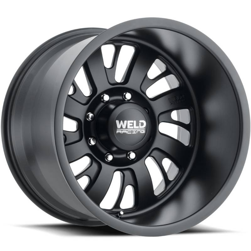 Weld Falkata 8 Matte Black Wheels