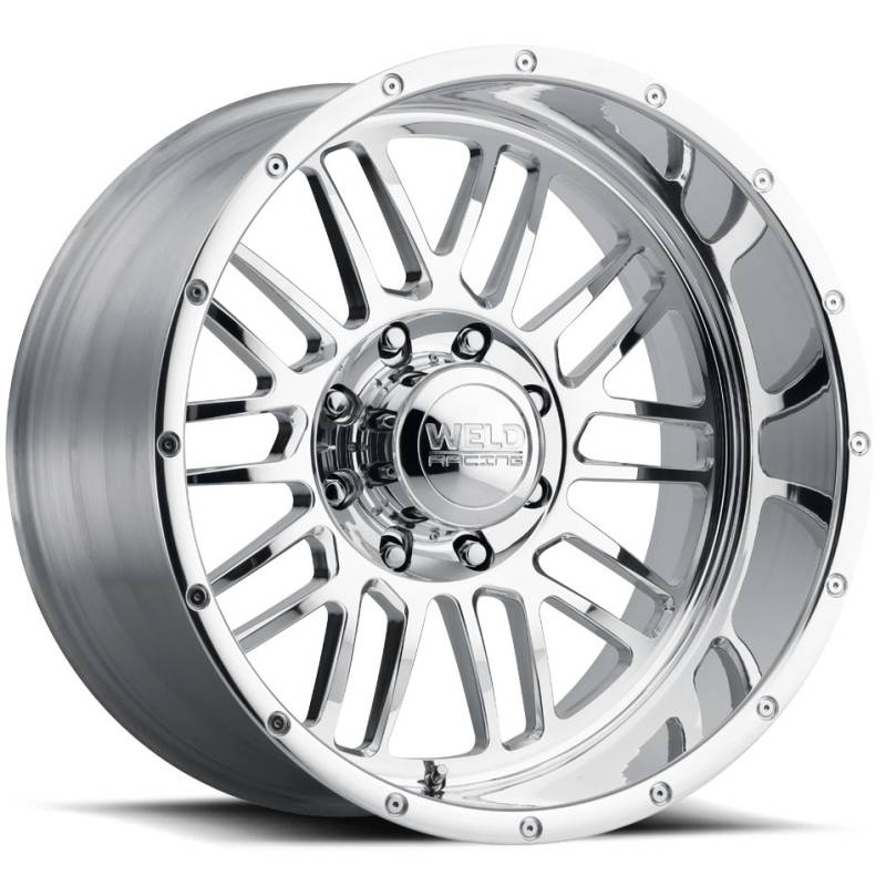 Weld Konflict 8 Polished Wheels