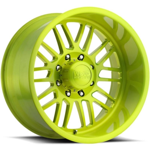 Weld Konflict 8 Subline Lime Wheels