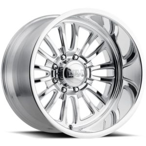 Weld Vector 8 Polished Wheels