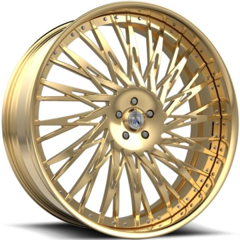 Asanti FS14 Gold Wheels
