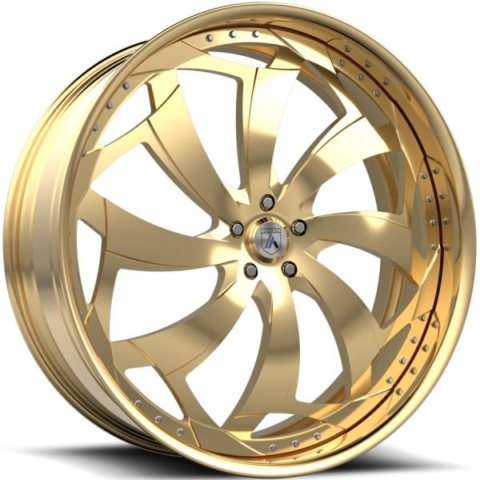 Asanti FS16 Gold Wheels