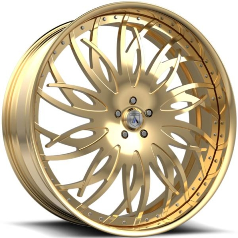 Asanti FS17 Gold Wheels