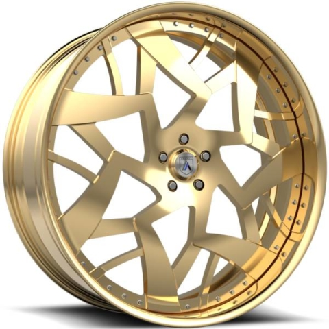 Asanti FS18 Gold Wheels