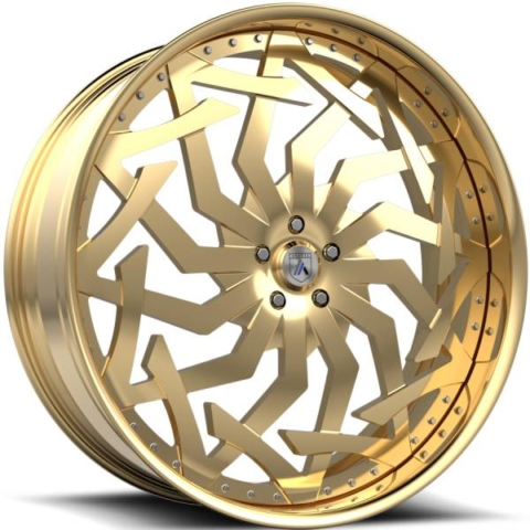 Asanti FS20 Gold Wheels