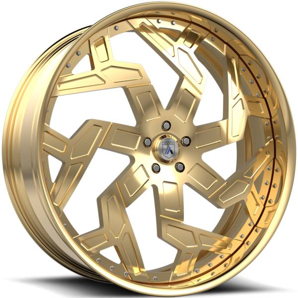 Asanti FS21 Gold Wheels