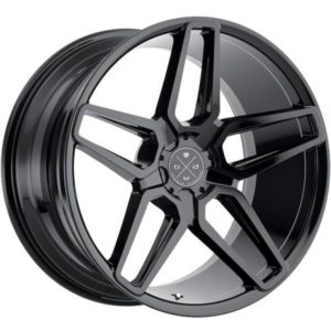 Blaque Diamond BD17 Gloss Black Wheels