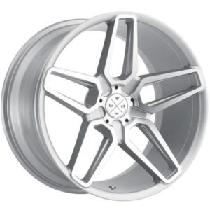 Blaque Diamond BD17 Silver Wheels