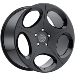 Blaque Diamond BD77 Satin Black
