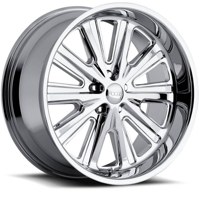 Foose Ascot F266 Polished Wheels