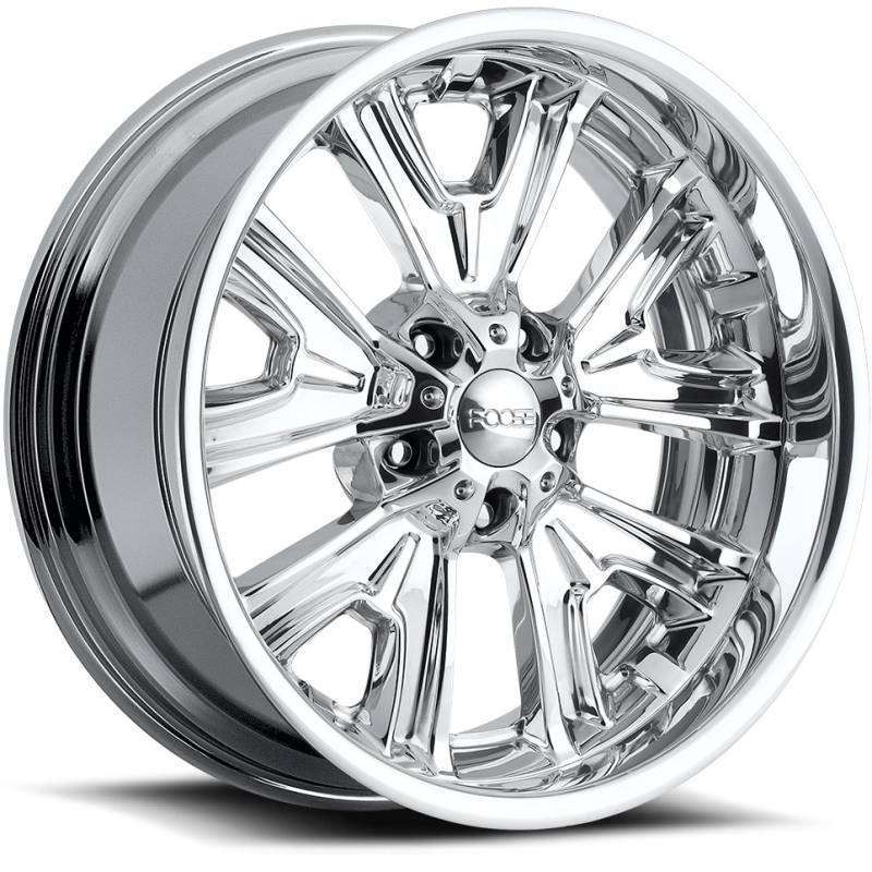 Foose Fishtail F205 Polished Wheels