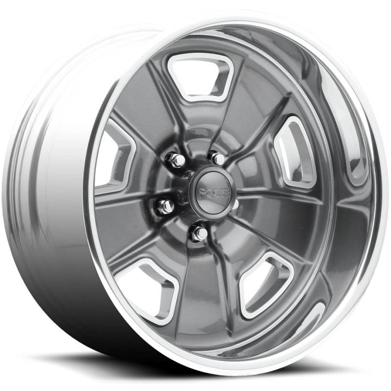 Foose Four42 F230 Grey Polished Wheels