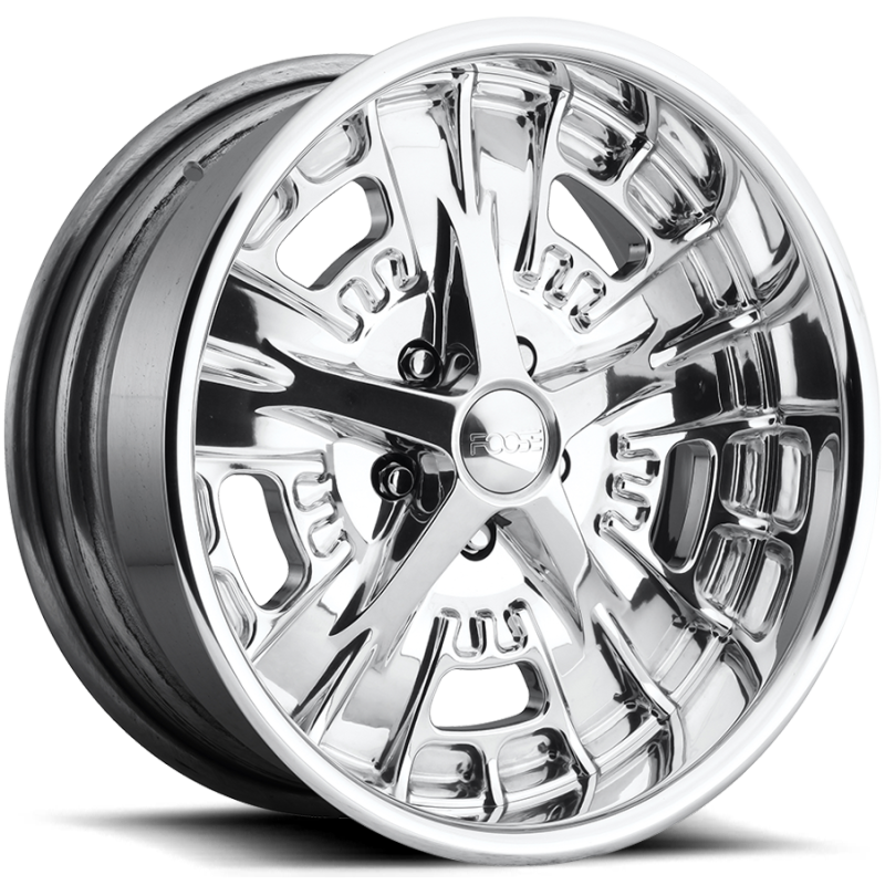Foose Gusset F232 Polished Wheels