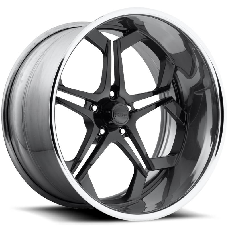 Foose Impala F229 Gloss Black Wheels