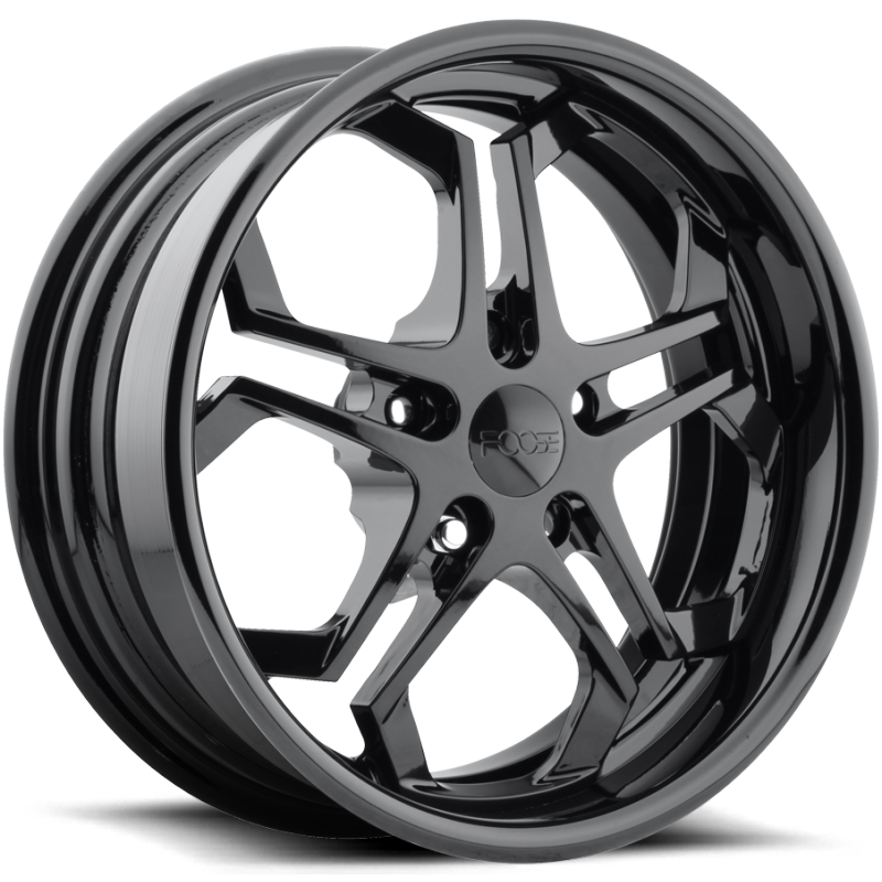 Foose Impala F329 1Gloss Black Wheels
