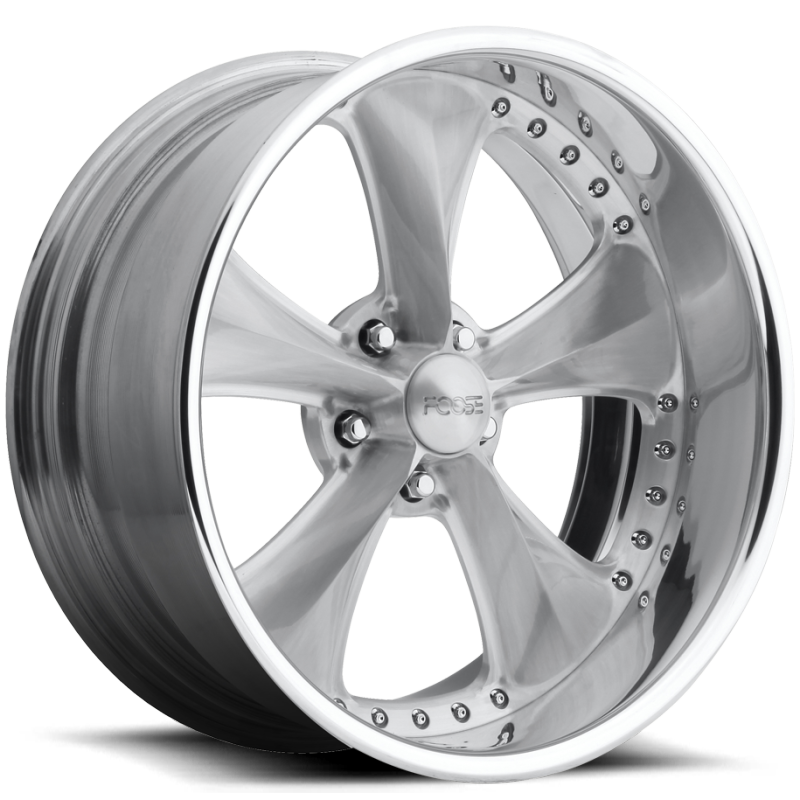 Foose Nitrous X F217 Brushed with Polished Wheels