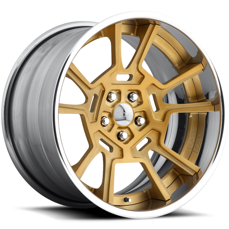 Foose Pantera F419 Matte-Gold Wheels