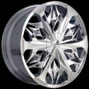 Lexani Fire FWD Chrome Wheels