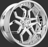 Lexani LF-110 Chrome Wheels