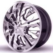 Lexani 612 Mistik Chrome Wheels with Spikes