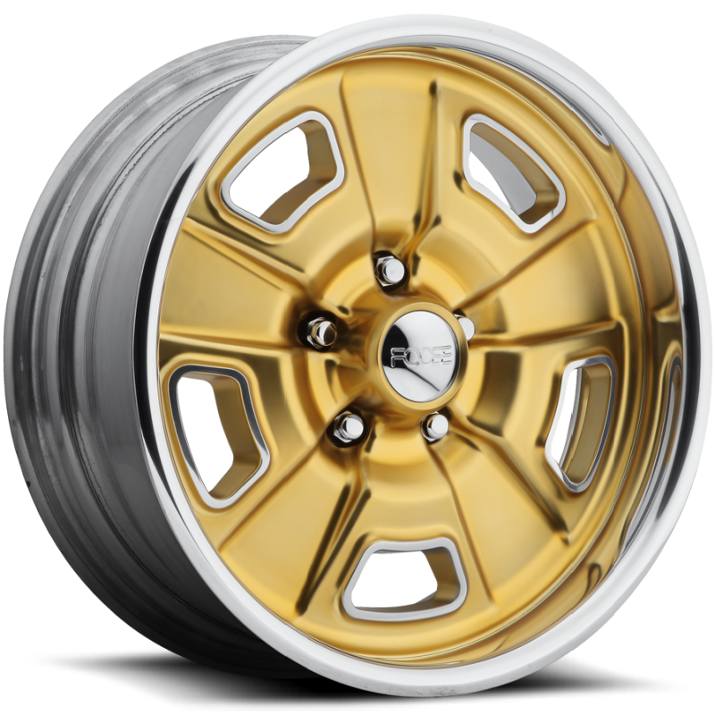 Foose Four42 F230 Matte Gold Wheels