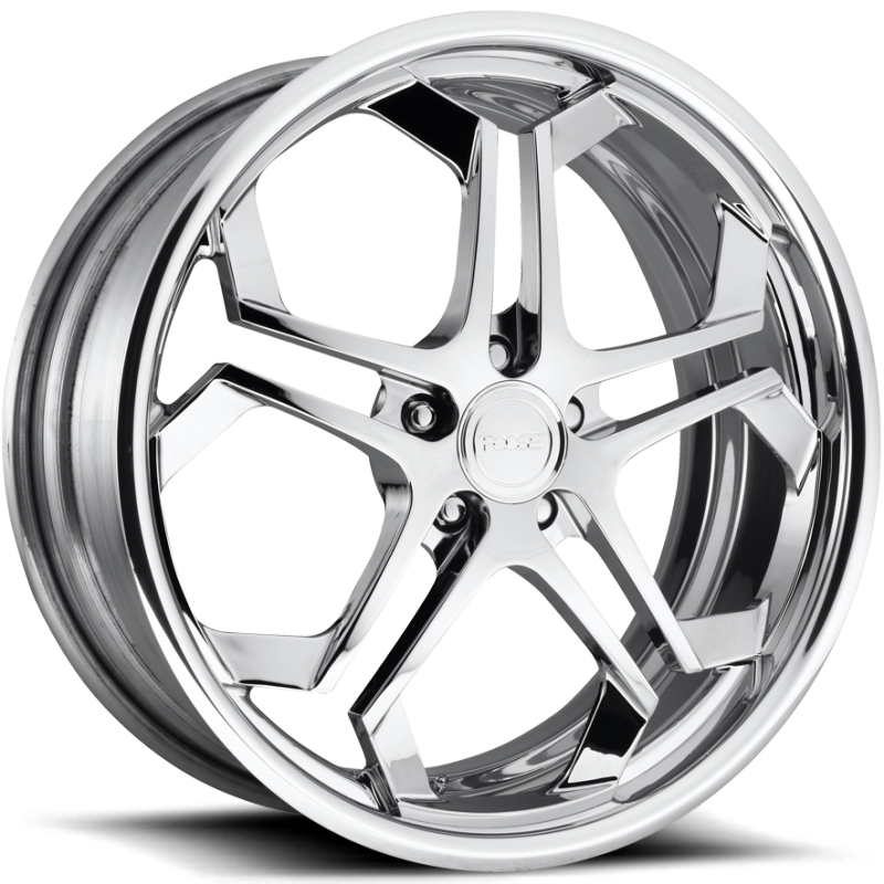Foose Impala F229 Chrome Wheels with Polished Lip