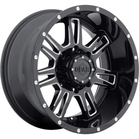 Gear Alloy 737BM Challenger Wheels