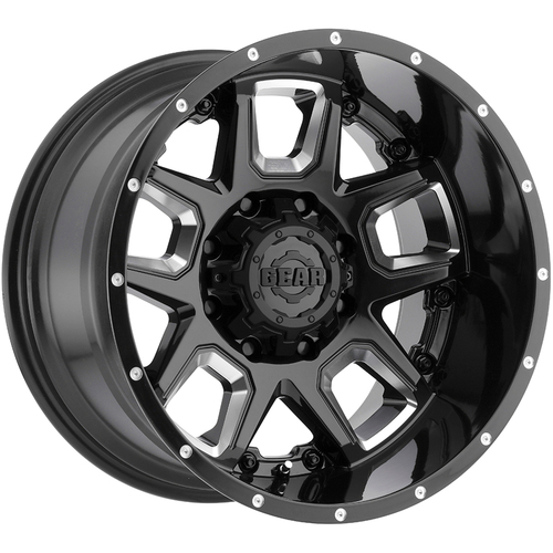 Gear Alloy 743BM Armor Wheels