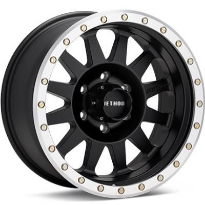 Method MR304 Matte Black Machined Double Standard