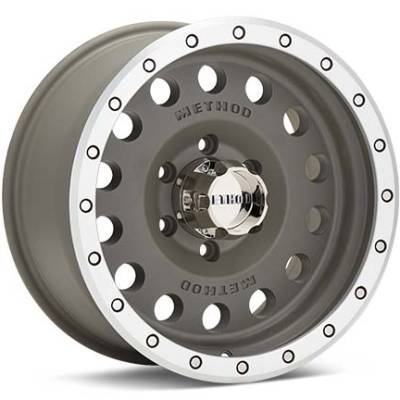 Method MR307 Hole Grey Wheels